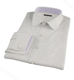 Light Pink Satin Stripe Tailor Made Shirt