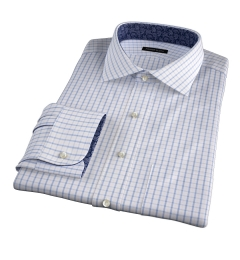 Cooper Pink on Blue Check Dress Shirt