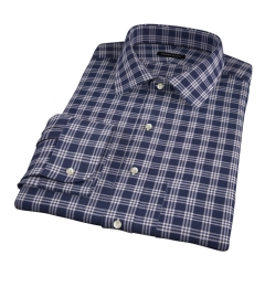 Canclini Blue Plaid Custom Made Shirt