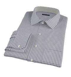 Medium Black Gingham Dress Shirt