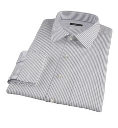 Canclini Black Stripe Tailor Made Shirt