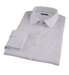 Lavender Fine Twill Custom Made Shirt