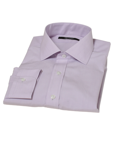 Lavender End-on-end Broadcloth Men's Dress Shirt