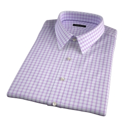 Essex Lavender Multi Check Short Sleeve Shirt