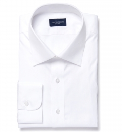 Mercer White Pinpoint Men's Dress Shirt