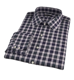 Japanese Green Donegal Tartan Tailor Made Shirt