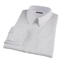 Wrinkle Resistant Lavender Multi Stripe Custom Made Shirt