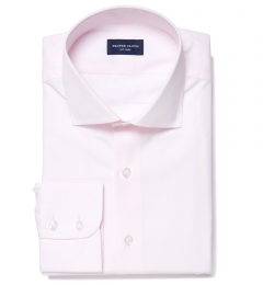 Greenwich Light Pink Broadcloth Dress Shirt