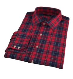 Wythe Red and Navy Plaid Custom Made Shirt