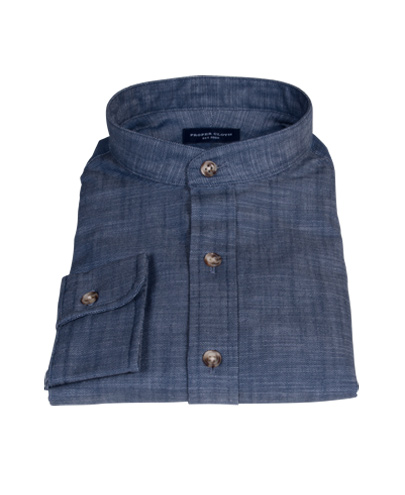 Blue Denim Tailor Made Shirt