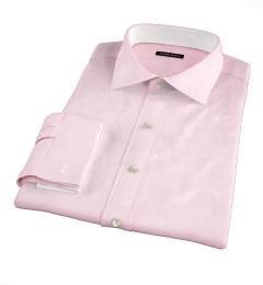 Thomas Mason Pink Pinpoint Dress Shirt
