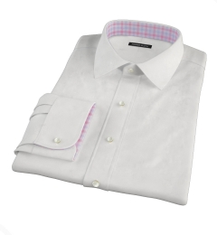 Canclini 120s White Royal Oxford Tailor Made Shirt