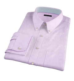 Thomas Mason Lavender Pinpoint Custom Dress Shirt