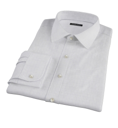 Blue Lavender Morton Grid Custom Made Shirt