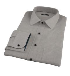 Charcoal Heavy Oxford Custom Made Shirt