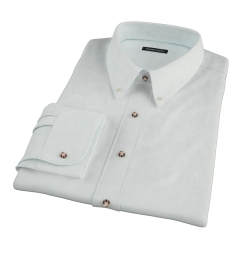 Bowery Mint Green Pinpoint Dress Shirt