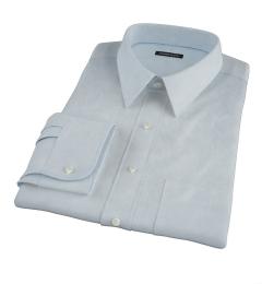 Light Blue Royal Oxford Tailor Made Shirt
