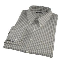 Honey Glazed Oxford Cloth Men's Dress Shirt