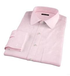 Greenwich Light Pink Broadcloth Dress Shirt