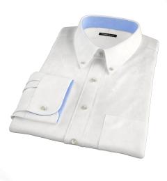 Miles White 120s Broadcloth Custom Dress Shirt