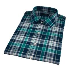 Dorado Green Plaid Short Sleeve Shirt