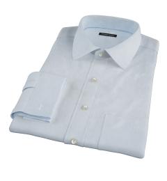 Carmine Light Blue Mini Grid Custom Made Shirt