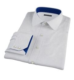 Blue Navy Morton Grid Dress Shirt