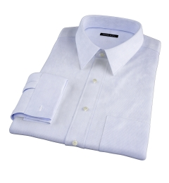 Canclini Blue Fine Stripe Tailor Made Shirt