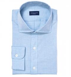 Grandi and Rubinelli Light Blue Chambray Dress Shirt