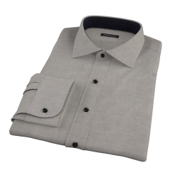 Charcoal Heavy Oxford Cloth Tailor Made Shirt