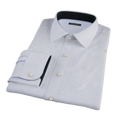 Blue Fine Stripe Dress Shirt