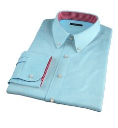 Genova 100s Aqua End-on-End Tailor Made Shirt