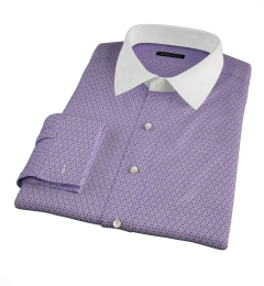 Granada Lavender Print Tailor Made Shirt