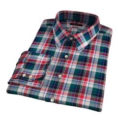 Wythe Multi Color Plaid Tailor Made Shirt