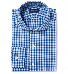 Canclini San Sebastian Plaid Fitted Shirt
