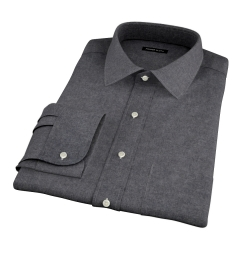 Canclini Cinder Beacon Flannel Men's Dress Shirt
