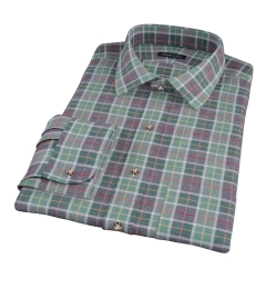 Green Dock Street Flannel Custom Dress Shirt