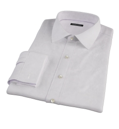 140s Pink Wrinkle Resistant Broadcloth Men's Dress Shirt