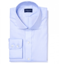 Thomas Mason Goldline Light Blue Royal Oxford Custom Made Shirt