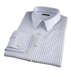 Cooper Pink on Blue Check Custom Made Shirt