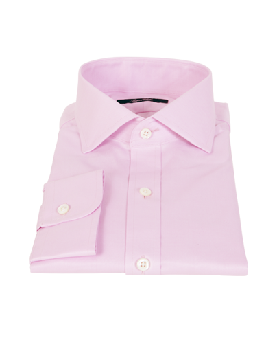 Pink Royal Twill Custom Dress Shirt
