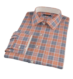 Orange Dock Street Flannel Custom Made Shirt