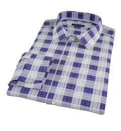 Canclini Etna Plaid Tailor Made Shirt
