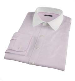 Pink Mini Grid Tailor Made Shirt