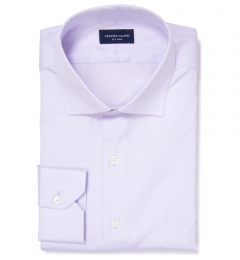 Thomas Mason Lavender Pinpoint Men's Dress Shirt