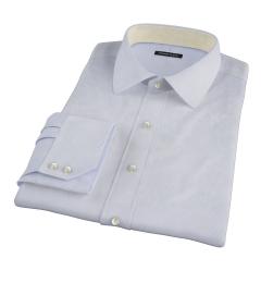 Canclini Blue Fine Stripe Men's Dress Shirt