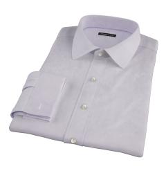 Lavender Fine Twill Dress Shirt