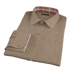 Canclini Fatigue Oxford Flannel Tailor Made Shirt