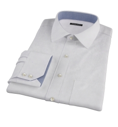 Wrinkle Resistant Lavender Multi Stripe Men's Dress Shirt