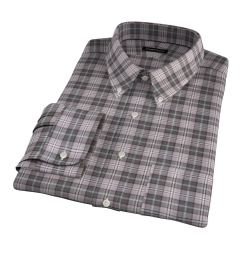 Jackson Olive Tartan Flannel Men's Dress Shirt